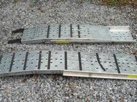 Arched Aluminum 1,500 Lb. Capacity Loading Ramps  Ohio