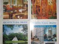 I am selling 4 copies of Architectural Digest Magazine