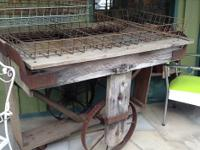 Architectural Feed Seed Market Cart $199.  CHECK OUT