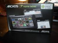 This Archos 7 home internet tablet has Android 2.1