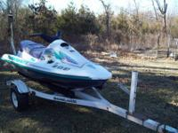 For sale or trade; a 1994 Arctic Cat Tiger Shark jet