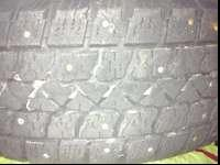 excellent condition and plenty of tread left. These
