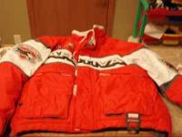 Youth Arctiva size 5-6 i think it runs big jacket, bibs