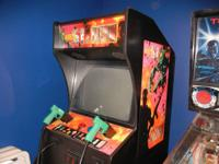 Selling my home and arcade games.  Area 51 maximum
