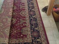 Area Floor Rug.  7 w x 10 ft
