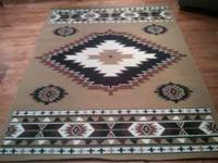 Southwest Area rug Size 160 X 225 made in Turkey. made