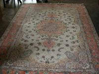 "9' 11"" X 6' 8"" Extra Fine Tabriz Area Rug.  Bought in"