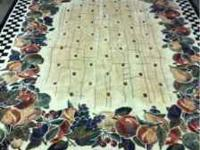 Decorative Area Rug for living room or dining room 8ft