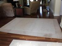 *6' by 9' rug from Pier 1 Imports only a year old -
