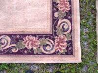 "AREA RUG 62"" x 93"" AND 2 RUNNERS 25"" x 93"" BLOOMFIELD"