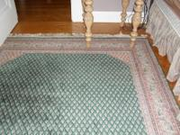 THIS FANTASTIC RUG WAS PURCHASED IN CHARLESTON, S.C. IN