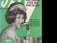 Amazing Apr 20 1967 Photo Cover Of Aretha Franklin !