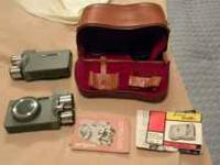 I have 2 Argus M3 8mm movie camera's for sale.I do not