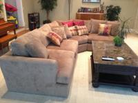 Right here we have an Arhaus 2-Piece Emory Sectional