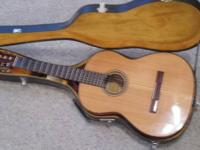 1970's period Japanese made guitar. Aria Model A551,
