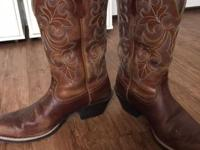 Ariat Women's Dusty Dune Round Up Square Toe Western