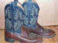 I have a pair of Ariat leather boots fo sale in a size