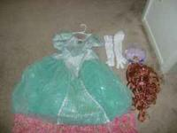 I have a size 6 Ariel Ball dress with the matching