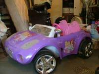 Ariel Solstice Motorized car: seats two children, used