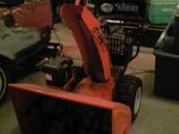 Ariens 1128 Pro Snowblower, 2004 model, electric start,