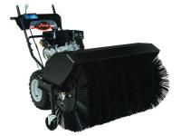 Remove light snow, slush and debris from walkways or