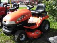 ariens lawn tracter. great shape ready to mow. new