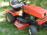 THIS IS A GREAT RUNING 12 1/2 HP ARIENS MOWER WITH