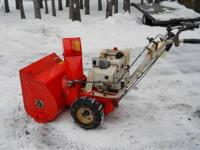 "ARIENS 8HP, 24"" SNOWBLOWER w/electric start & tire"