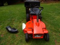 """Ariens 8HP Briggs and Stratton 30"""" Width Cut with Grass"""