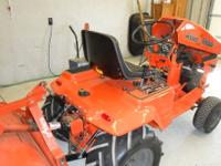 I have refurbished this tractor including; motor,new