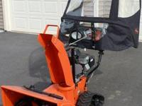 Ariens Deluxe Snow Blower with Tracks, Cab, and all the