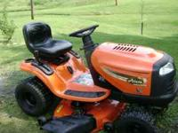 We are selling this great riding mower. We just bought