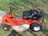 "Ariens RM 830 riding lawn mower with a 30"" deck and 110"