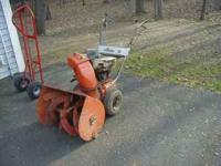 "Ariens snow blower 24"" the motor is junk not included"