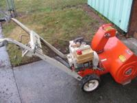 Up for sale is Ariens snowblower. I had used it for the