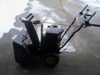 Ariens Sno-Tek 24 snow blower. This snow blower is in