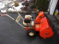 Hi I have a older Ariens snowblower 6hp 4 speed plus