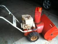 Oldie but goodie 7 hp Ariens snowblower Starts right