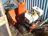 PARTING OUT AN OLD ARIENS SNO-THRO SNOWBLOWER. ALSO