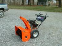 I have a Ariens ST1028LE snow blower in like new