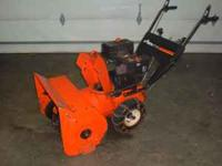 Ariens ST724 Snowblower Powered by a 7hp Tecumseh