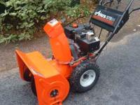 Ariens ST824 Snowblower 8hp Tecumseh Engine with Recoil