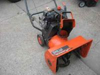ariens snowblower-runs great- $150-- craftsman
