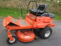 2002 Ariens EZRide zero turn radius riding mower. 40""