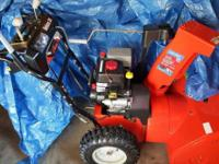 "Ariens 24"" Deluxe Snowblower was purchased and use last"