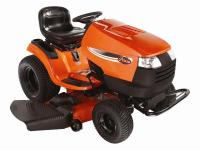 The Ariens 2-Wheel Drive Gas 25 HP Garden Tractor mows