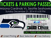 Arizona Cardinals vs Seattle Seahawks December 21, 2014