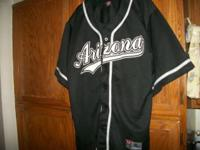 Arizona Black Baseball Jersey, Looks to be in good