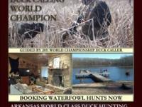 ARKANSAS Duck Hunts!! in the Duck Hunting Capital of