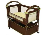Arm's Reach Brand Bassinet Clearvue, Natural color New